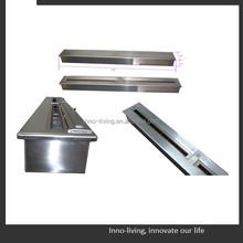Stainless steel entertaining ethanol fireplace insert burner