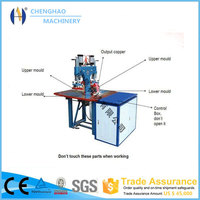 double heads plastic tray making machine for egg box ,golden supplier