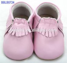 moq 60 baratos al por mayor de cuero suave zapatos de bebé