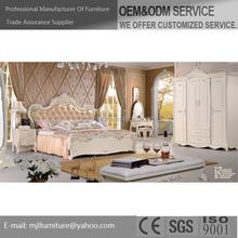 Bed, mattresses, cabinet,pillow, morder bedroom furniture set