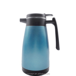 Wholesale high quality double stainless steel 1.5L vacuum jug coffee pots