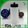 measure water plastic bottle 330ml custom design with pouring cap