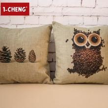 Creative Casual Owl Pillow Home Decorative Cushion Cover