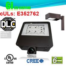 6 years warranty UL DLC Parking Lot Led Light Retrofit Kits 120w