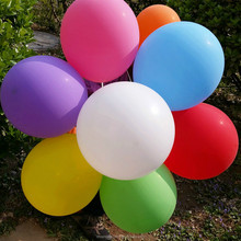 "12"" round rubber balloon"