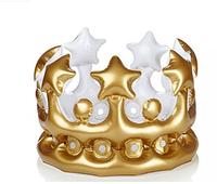 native christmas decoration sale King PVC inflatable crown