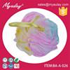2015 Three color net bath sponge ,bath mesh sponge BA-A-026