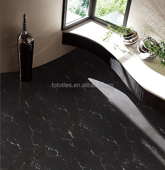 Black Galaxy Marble Design Polished Porcelain Floor Tile Buy Black