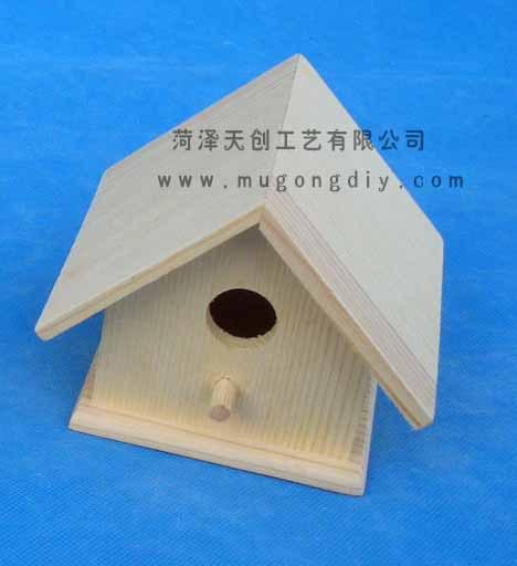 Artesanías de madera de decoración pequeño nido de pájaro Creativo ...