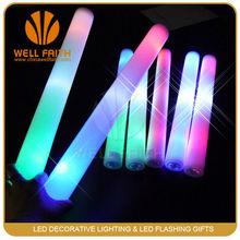 Factory wholesale led foam flashing light stick, led flashing light stick for concert