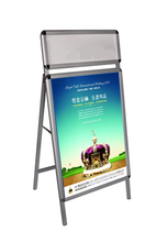 Industrial Metal Cheap Poster Display Stand