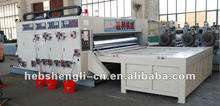 corrugated packing machine automatic cardboard print and cut machine