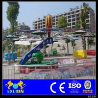 Crazy dancing double flying ride
