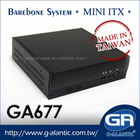 GA677 Car PC Mini ITX Case for Set Top Box PC