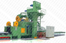 abrasive grits buffing dust-less CE Certification H Beam Steel Sand Blast Machine / Electric Sandblaster