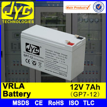 Deep cycle battery 12v 7ah for DC screen system