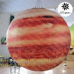 Beautiful design custom inflatable hanging lighting Solar system Eight planets--Jupiter
