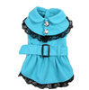 Pet accessories wholesale china dog clothes winter dress wholesale collar style dog dress