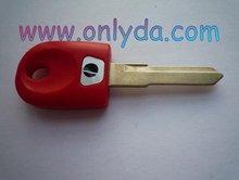 motorcycleDucati motor key blank (red color)