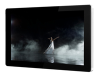"""65""""LED Backlight HD LCD video display advertising player for bus advertising with wifi"""