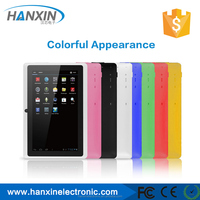 hot sell 7inch RK3026 dual core V17 PRO android tablet pc ram 512 rom 8GB dual camera