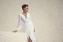 Chaude et sexy robes de mariée très sexy robes de mariée sexy fente avant robes de mariée