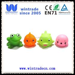 factory produce friendly soft plastic bath toy cute whale bath rubber toy