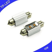 10W 31mm 36mm 39mm 41mm Double sharp lights Reading lamp License plate lamp
