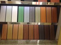 fiber cement wooden grain exterior cladding materials for house