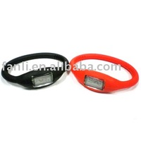 2015 hot sale ion silicone watch