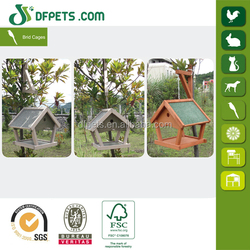 DFPETS DFB002H Wooden Hanging Bird Cage For Sale