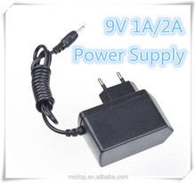 OEM AC 100-240V DC 9V 1A 2A Power Supply Adapter Switching Converter Adapter US/EU / UK / AU Plug