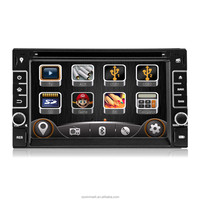 "DK6533 6.2"" two din in-dash HD digital monitor car dvd player car radio with GPS external TV etc.features for universal cars"