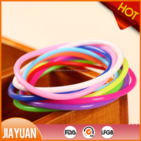 small red rubber bands/silicone thin rubber bands & super elastic silicone rubber bands
