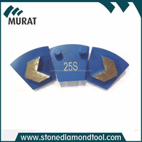 Blue Color Grit 25 Soft Bond Metal Bonded Diamonds