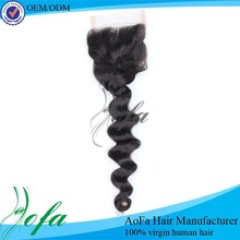 Best selling silk invisible part closure malaysian virgin hair malaysian hair closures