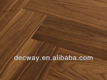 American Black Walnut veneer plywood engineered wood flooring