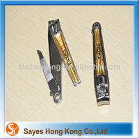 SY 2014 new wave design chinese style nail clippers simple ,round shape and foot shape nail cutter