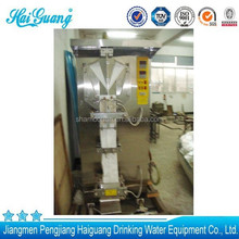 Professional supplier sachet pouch aseptic pouch filling machine