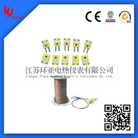 J/K/T bare thermocouple with welded point
