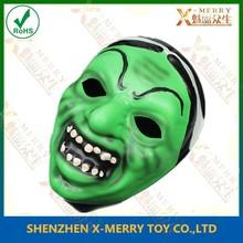 X-MERRY Green devil mask EVA Halloween eccentric Mask terrible goblin