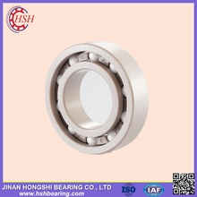 lubrication free PEEK cage ZrO2 full ceramic ball bearing 6806 2RS