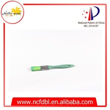Green Plastic Handle Green Color Synthetic Hair Paint Brushes Artist