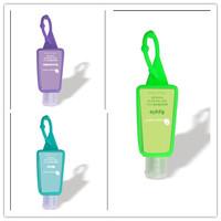 hand sanitizer gel with silicone holder 30ml