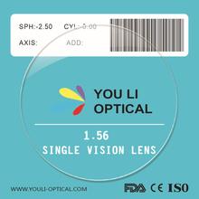 1.56 Resin Eyeglass Lens Manufacturers