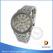 Promotion Cartoon Blinking Stainless Steel Wristwatch