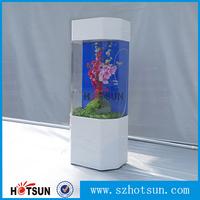 1m height indoor perspex fish tank aquarium factory export