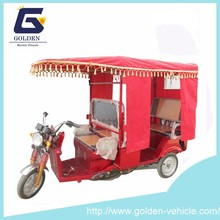 Electric Tricycle Rickshaw for Indian Market