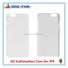 3D Blank Sublimation Phone Case for IP6 Sublimation Cell phone Cover 3d sublimation case