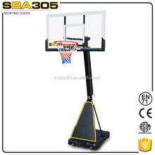 durable hydraulic team sport basketball stand